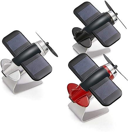 Irinay Ventilador Solar Modelo De Avión Portátil Solar Purificador ...