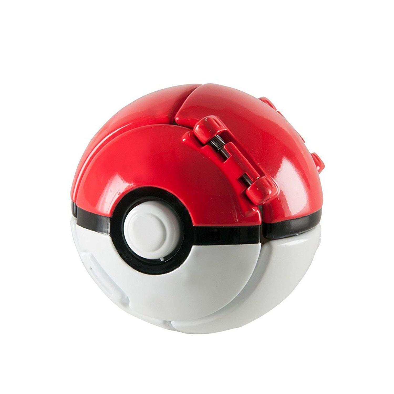 Bulbasaur and Ultra Ball DUDEL Pok/émon Throw N Pop Pok/é Ball Figurine Pokemon and Pokemon Ball Action Figure Toy for Kids