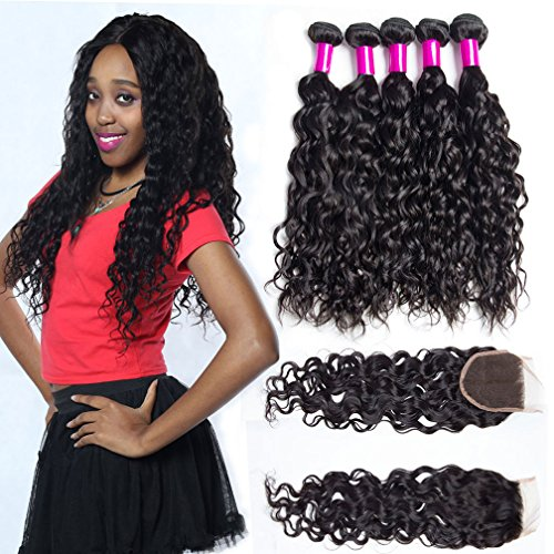 wet and wavy lace closure - 2