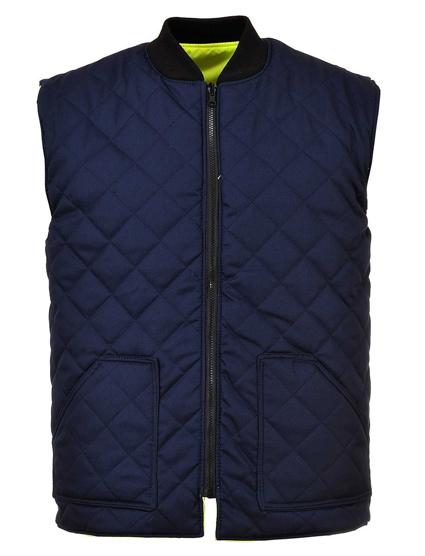 Portwest S469YERXXXL Hi-Vis Reversible Body warmer Yellow Size 3X-Large Regular