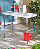 The Lakeside Collection Portable Sink Table