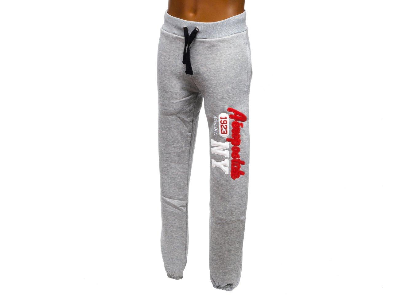 Aeropostale – NY Pant grisuni – Pantalón de chándal, gris claro ...