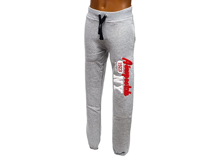 Aeropostale - NY Pant grisuni - Pantalón de chándal, gris claro ...