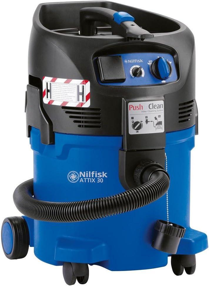Nilfisk Alto en húmedo/seco y seguridad ATTIX 30-2H PC aspirador 107400406 contenedores-contenido 30 l Consumo de energía (max.: Amazon.es: Electrónica