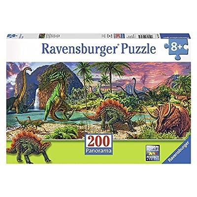 Ravensburger Italy Nel Paese Dei Dinosauri Panorama Puzzle 200 Pezzi 12747