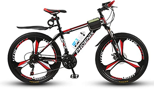 PXQ Ligero 26 Pulgadas de Bicicleta de montaña 21/24/27 Velocidad ...