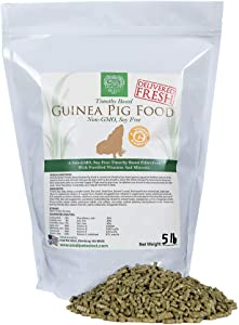 Small Pet Select-Premium Guinea Pig Pellet Food, Non-GMO, Soy Free. Local ingredients in Pacific Northwest