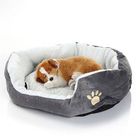 EUGU Versión Mejorada Perro Y Gato Caliente Suave Camas,Perro Camas Y Gato Camas,