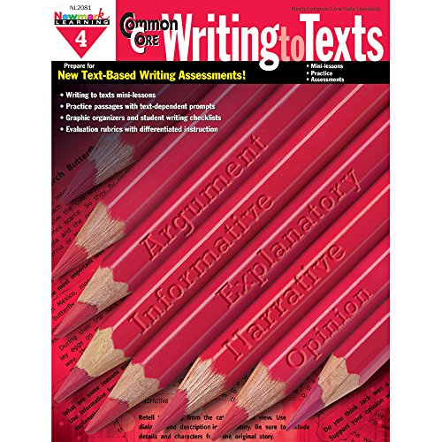 Common Core Practice Writing to Texts Grade 4 (CC Writing)