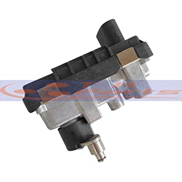 tkparts nueva g-009 G009 6 nw009550 767649 Turbo eléctrico actuador wastegate ladedruckregler: Amazon.es: Coche y moto