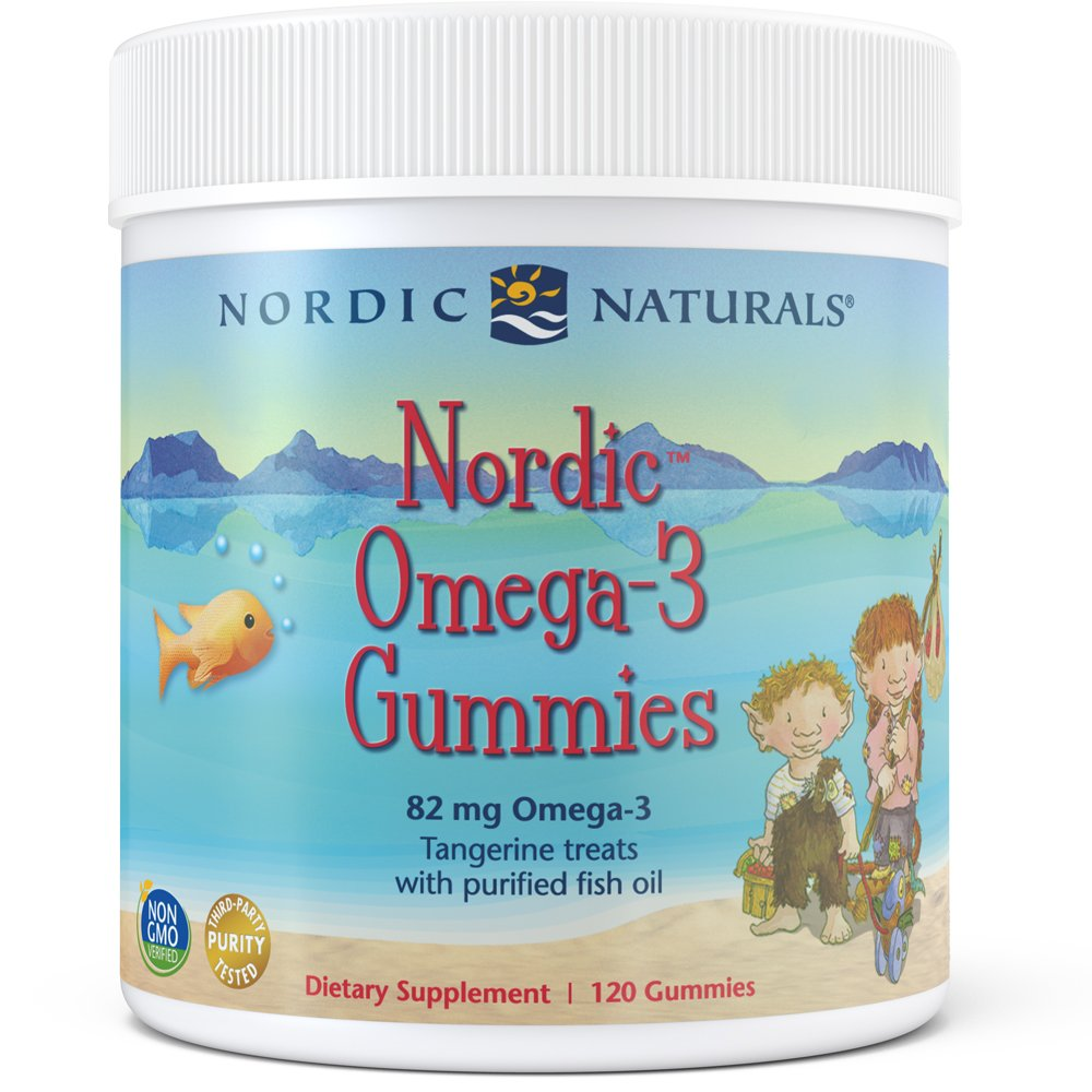 Nordic Naturals - Nordic Omega-3 Gummies, Supports Optimal Brain and Immune Function, 120 Count by Nordic Naturals