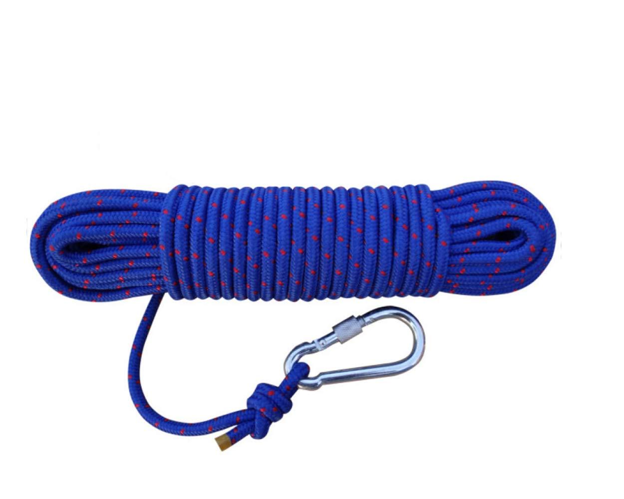 ZAIYI-Climbing rope Outdoor-Klettern Hilfs Sicherheit Rettungsleine Rettungsleine Rettungsleine Verschleiß Haltbarkeit 8mm,Blau-8mm10m B07NVJLBCW Reepschnüre Online 3d7307
