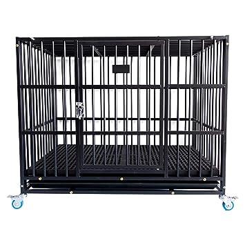 Casetas y cajas para perros Los perros pequeños y medianos de jaula para perros con jaulas ...