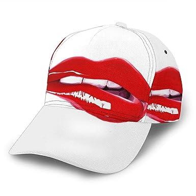 Red Lips PT Gorra de béisbol Ajustable para Mujer y Hombre, Gorra ...