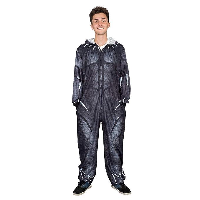 Amazon.com: Marvel Comics - Traje de pijama con cremallera ...