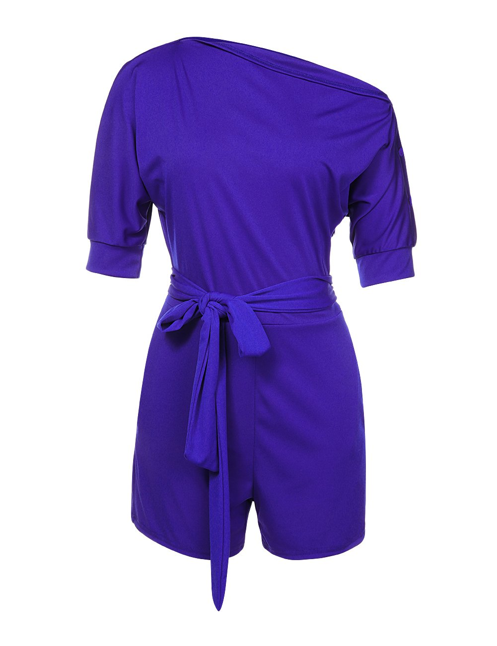 Vilover Summer Rompers and Jumpsuits for Women with Pockets (XL, Blue 1#)