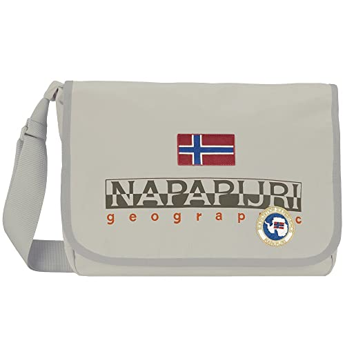 Borsa Tracolla Donna Napapijri Bag Woman North Cape Small Messanger  N3R25-Bianco  Amazon.it  Scarpe e borse 1b7ab0d4620