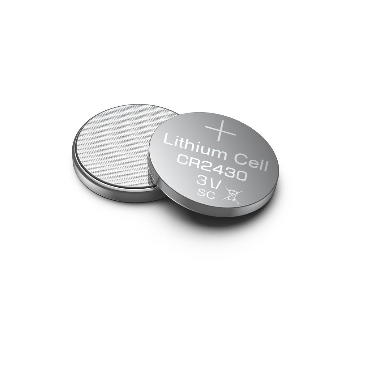 EBL CR2430 3V Lithium Button Cell Battery 10 Pack