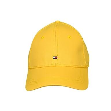 Tommy Hilfiger - Gorra de béisbol - Blusa - para mujer amarillo amarillo: Amazon.es: Ropa y accesorios