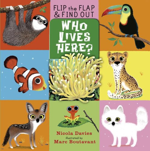 Download Who Lives Here? (Flip the Flap and Find Out) ebook