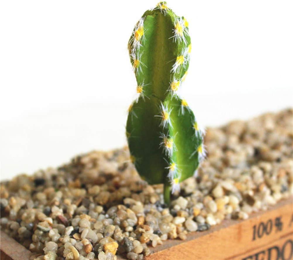 Mini Office Depot Plástico Artificial Miniatura Suculento Planta Cactus Echeveria Flores Decoración Del Hogar - H06