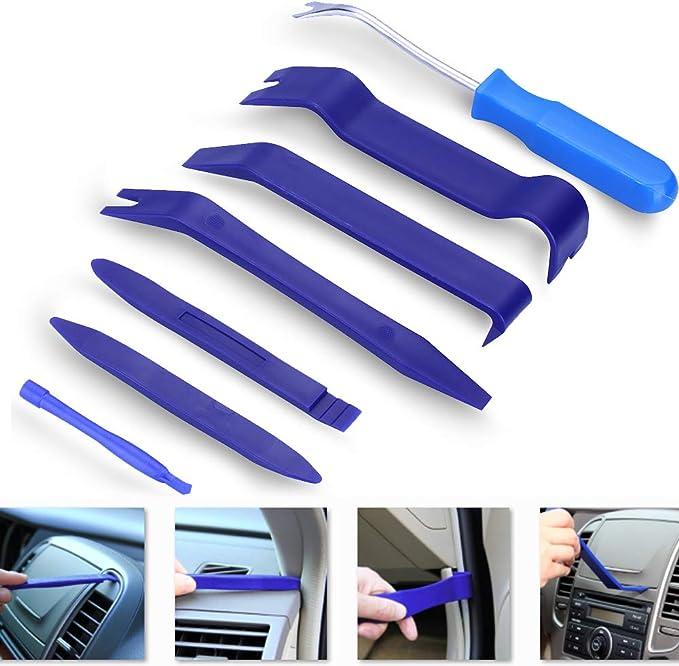 13X Innenraum Zierleistenkeil Werkzeug Verkleidung Montagehebel Türverkleidung