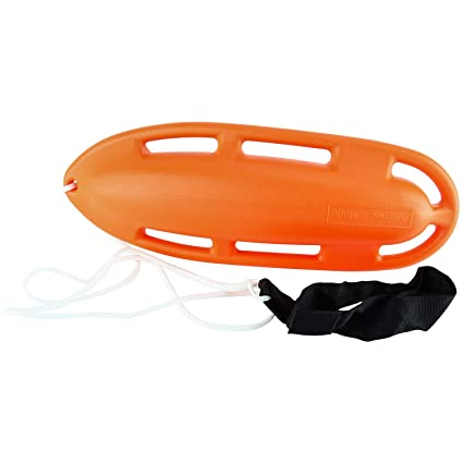 1cf51136b73 Image Unavailable. Image not available for. Color  Amarine-made 6 Handle Lifeguard  Rescue Can Floating Buoy Tube ...