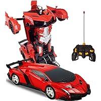 Uzaktan Kumandalı Robota Dönüşen Oyuncak Araba Ferrari