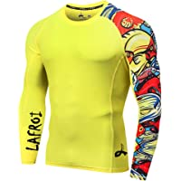 LAFROI - Camiseta de Neopreno Protectora, de compresión, para Hombre, Manga Larga, UPF 50+, Ajustada, Modelo CLYYB