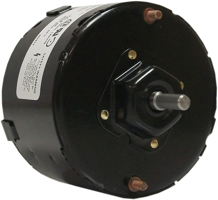 Fasco D1109 3.3-Inch Diameter Shaded Pole Motor, 1/100 HP, 115 Volts, 1500 RPM, 1 Speed, 0.65 Amps, CCW Rotation, Sleeve Bearing