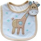 Lovely Cute Cartoon Pattern Toddler Baby Waterproof Saliva Towel Baby Bib (Giraffe Pattern)