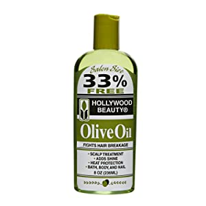Hollywood Beauty Olive Oil, 8 Ounce