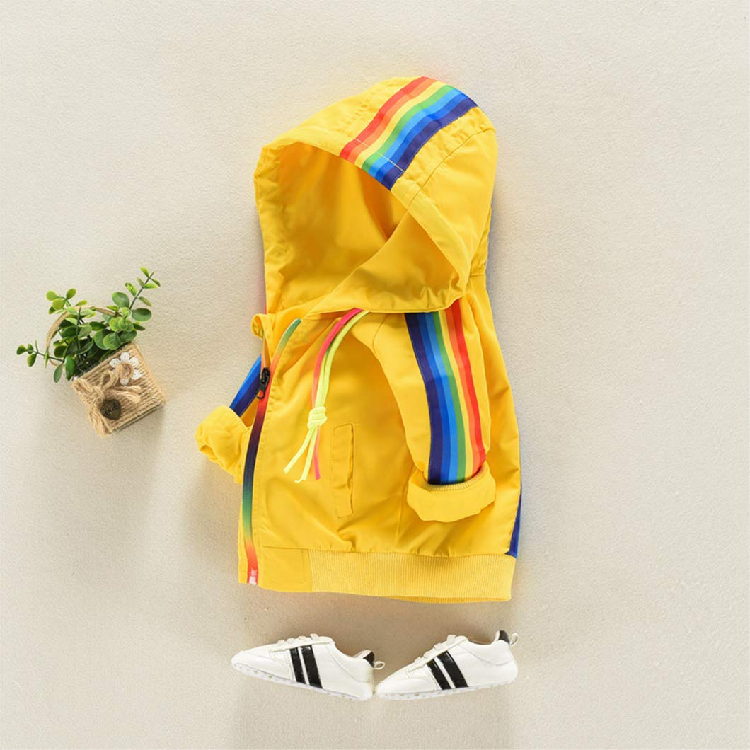SERAIALDA Infant Baby Boys Zip Long Sleeve Hooded Jacket Outwear Sweatshirt