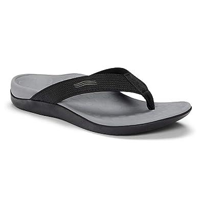f04fb92d15f8 Orthaheel Vionic Wave - Black - Unisex Sandals Black - Men s 14