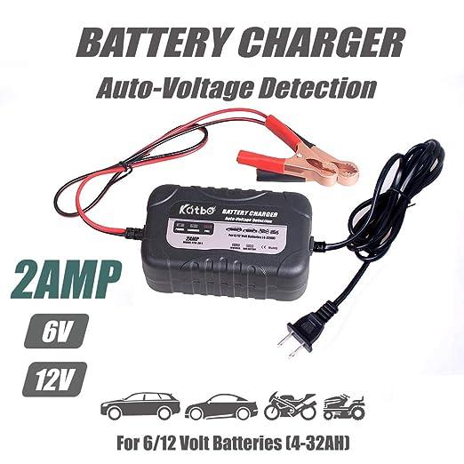 Amazon.com: Cargador de batería inteligente KATBO de 2 ...