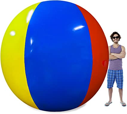 Baby Kids Beach Pool Play Ball Inflatable Educational Children Ball Toy RDR