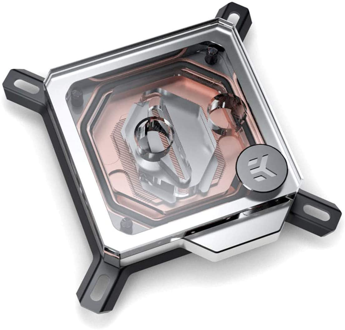 EKWB EK-Velocity CPU Waterblock, Intel CPU, Copper/Plexi