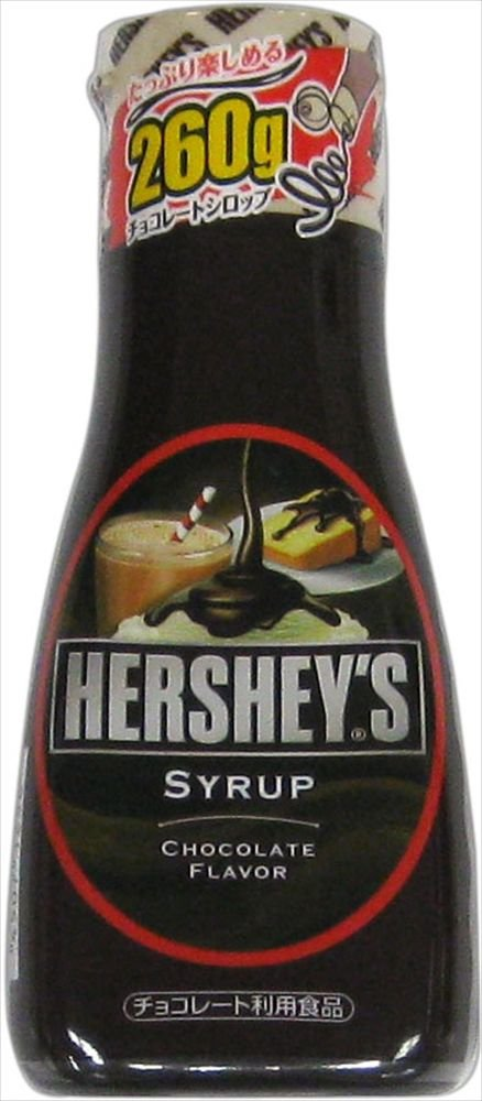260gX6 this Hershey chocolate syrup by Home Made