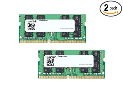 Mushkin Essentials - DDR4 Laptop DRAM - 64GB (2x32GB) SODIMM Memory