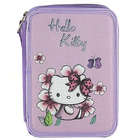 Target Hello Kitty Pencil Case Estuches, 22 cm, Morado ...
