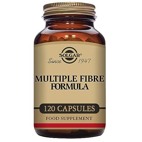 Solgar Fórmula de Fibra Múltiple Cápsulas vegetales - Envase de 120