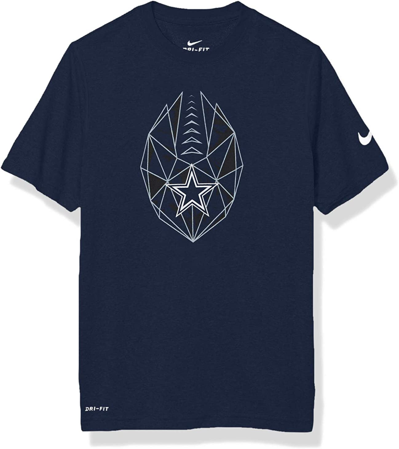 X-Large NFL Dallas Cowboys Nike Youth Legend Icon Tee Navy