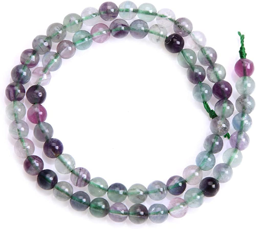 Sweet /& Happy Girls Store Perles en fluorite naturelle 38 cm