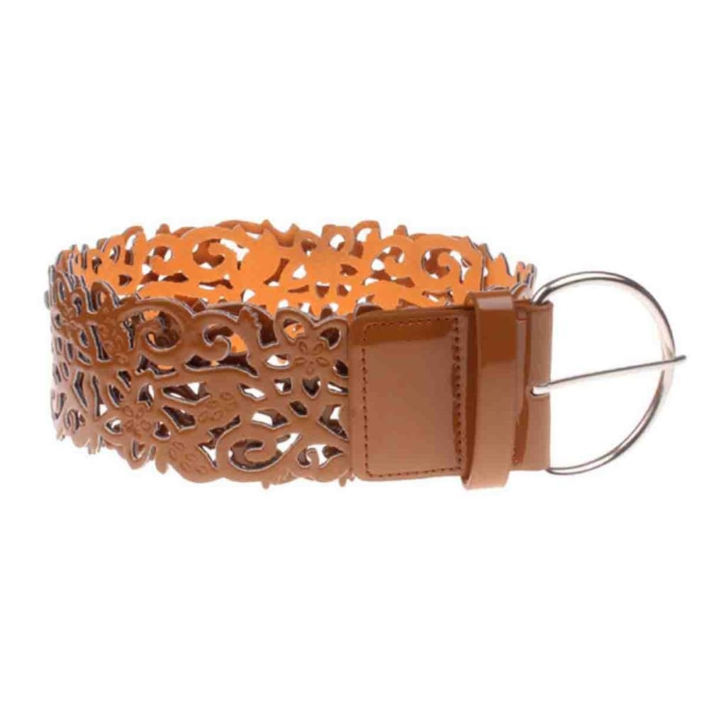 Lady Women Fashion Exquisite Retro Carved Leather Belt Waist Belt Waistband