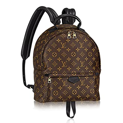 b7511d8139a4 Authentic Louis Vuitton Monogram Canvas Palm Springs Backpack MM Handbag  Article  M41561 Made in France  Handbags  Amazon.com