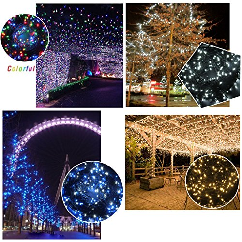 Excelvan-Safe-24V-500-LEDs-100M328FT-Dimmable-Lights-String-Fairy-Lights-DC-Transformer-with-Green-String-8-Modes-for-Bedroom-Patio-Garden-Gate-Yard-Party-Wedding-Decoration