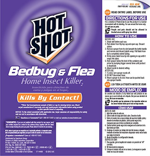 hot shot bed bug spray review how to get rid of 11 pests