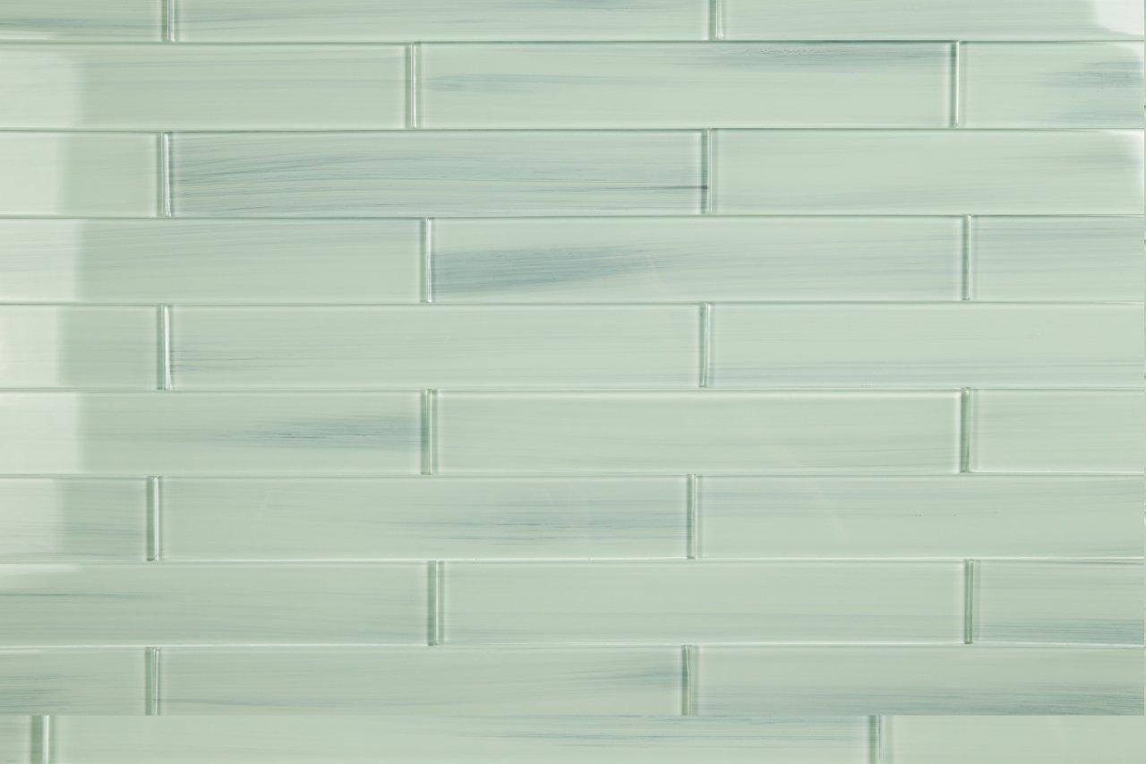 Light blue off white vesper glass subway tile for kitchen backsplash light blue off white vesper glass subway tile for kitchen backsplash or bathroom from bodesi color sample amazon dailygadgetfo Images