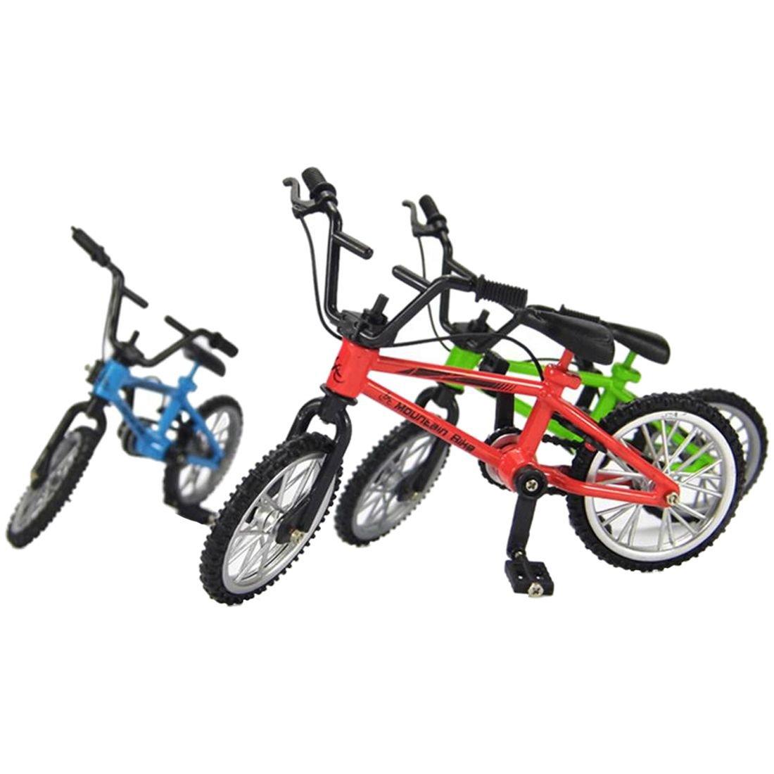 SODIAL Tech Deck Finger Bike Bicycle+ Finger Board Boy Kid Children Wheel BMX Toy S 136426