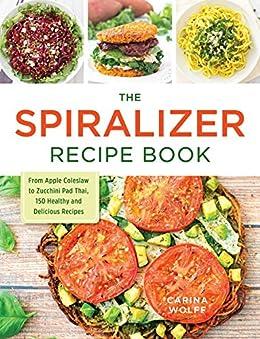 Spiralizer Recipe Book Coleslaw Delicious ebook product image